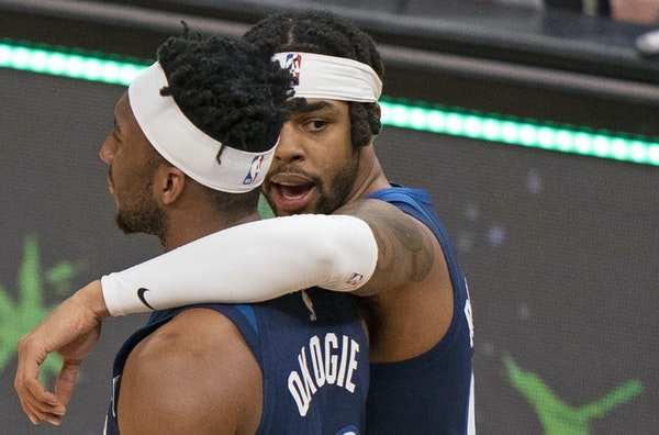 Only 24, Timberwolves guard D'Angelo Russell is already on his fourth NBA team.