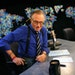 """FILE — Larry King on the set of his CNN interview program, """"Larry King Live,"""" which ran for 25 years and was the cable channel's highest-rated"""