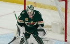 Wild's Cam Talbot out vs. Sharks