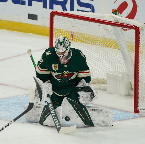 Wild's Talbot out vs. Sharks