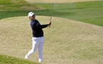 Si Woo Kim birdied two of the final three holes to shoot a 64 and rally past late-charging Patrick Cantlay by one shot to win The American Express on