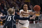 Gadiva Hubbard can make amends for a poor shooting performance against Penn State on Jan. 10 in Monday's rematch.