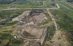 Waste Management's Burnsville landfill  ]  BRIAN PETERSON • brian.peterson@startribune.com Burnsville,  MN  09/18/2018
