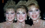 The McGuire Sisters, Christine, Phyllis and Dorothy, topped the charts with hits in the 1950s.