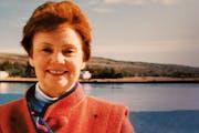 Andrea Peterson, teacher and former mayor of Grand Marais