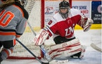 From Snapchat to starting goalie, Lakeville North hockey novice earns more than game puck