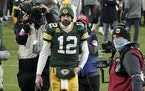Quarterback Aaron Rodgers sent a message to his Packers bosses after Sunday's NFC Championship Game that has the football world now buzzing if he'