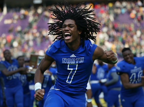 Charles Royston Jr.'s wide smile was captured in a 2016 photo in the Star Tribune after his Minneapolis North team won the state Class 1A football t