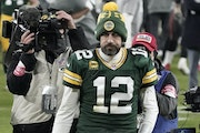 Aaron Rodgers likely will win his third MVP, but he walked off the field after a Packers loss in the NFC Championship Game for the fourth time.