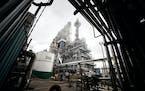 Flint Hills Resources has put out bids for a solar plant to help fuel its Pine Bend refinery in Rosemount. (GLEN STUBBE/ glen.stubbe@startribune.com)