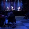 A small, physically distanced audience at First Avenue watched Charlie Parr (right) perform a livestreamed show Sunday with Dave Simonett and Liz Drap