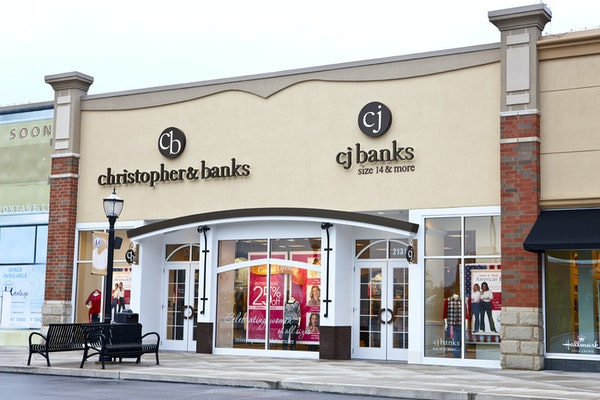 Christopher & Banks says closing sales at its stores should be done by Feb. 28. (BRANDON L. JONES/Provided photo)