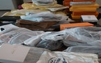Federal authorities said these seized items were counterfeits made in Laos.  Credit: U.S. Customs and Border Patrol