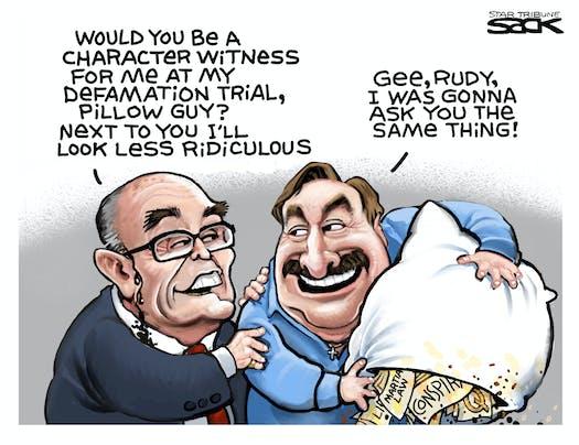 Rudy Guiliani says,