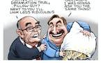Sack cartoon: Seeking character witnesses