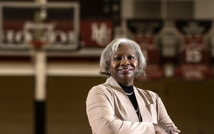 """I'm not afraid to speak up when students' interests are on the table,"" says Hamline President Fayneese Miller, who also has taken on sports l"