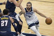 Point guard Ricky Rubio is shooting a career-worst 37.7% from the field since his return to the Wolves.