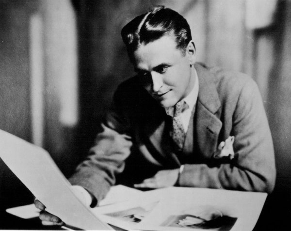 "The notion that ""there are no second acts in American lives"" is attributed to F. Scott Fitzgerald, shown here in the 1920s. Kirk Curnutt, vice pre"