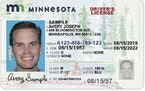 A standard Minnesota driver's license.