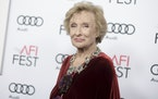 "In 2016, Cloris Leachman attends the premiere of ""The Comedian"" during the 2016 AFI Fest in Los Angeles. Leachman died of natural causes at home a"