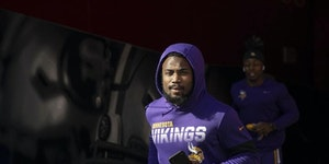 "Vikings running back Dalvin Cook is optimistic for the future: ""We've got guys that can light the field up."""