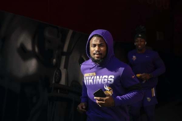 """Vikings running back Dalvin Cook is optimistic for the future: """"We've got guys that can light the field up."""""""