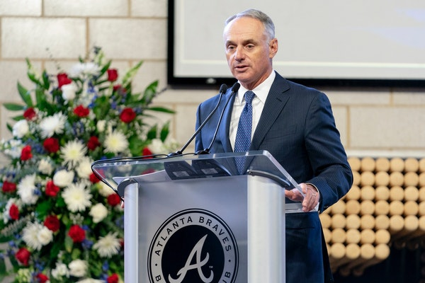 A report in the Wall Street Journal says that Major League Baseball and Commissioner Rob Manfred wants to delay or shorten the 2021 season. Why would
