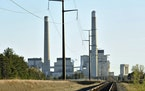 Xcel Energy's Sherco Power Plant in Becker. (AP Photo/St. Cloud Times, Jason Wachter, File)