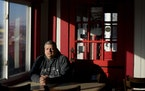 Jeff Fitter, owner of Super Smokers BBQ, poses for a photo inside his restaurant Thursday, Jan. 28, 2021, in Eureka, Mo. Fitter says his profits were