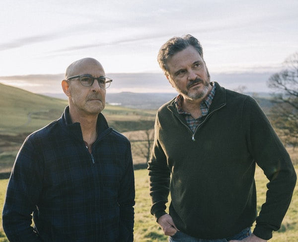 """Stanley Tucci and Colin Firth in """"Supernova."""""""