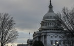 Outside the Capitol in Washington, Wednesday, Jan. 27, 2021. Through a fast-track process known as budget reconciliation, Democrats could muscle throu