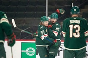 Johansson key to Wild's offense in win over Kings