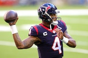 Deshaun Watson has asked for a trade out of Houston, but even if the Vikings have the assets to acquire the star quarterback that doesn't mean they