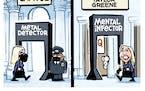 Sack cartoon: Rep. Marjorie Taylor Greene