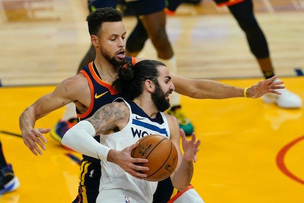 Timberwolves guard Ricky Rubio