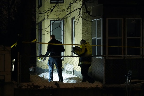 Three people were fatally shot inside a multiunit building on the 700 block of Jessie Street on Saturday afternoon in St. Paul.