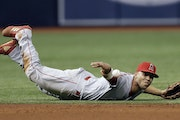 Andrelton Simmons won two Gold Gloves in Atlanta and two more with the Los Angeles Angels.