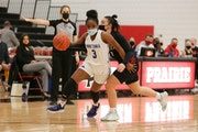 Minnetonka guard Desiree Ware is one of the players who makes the Skippers go.