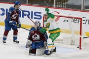 Wild battles through adversity to overcome Avalanche in overtime