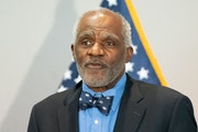 Justice Alan Page.  Gov. Tim Walz and Lt. Governor Peggy Flanagan previewed the education spending plan, called Due North, for 2021-22 in afternoon ne