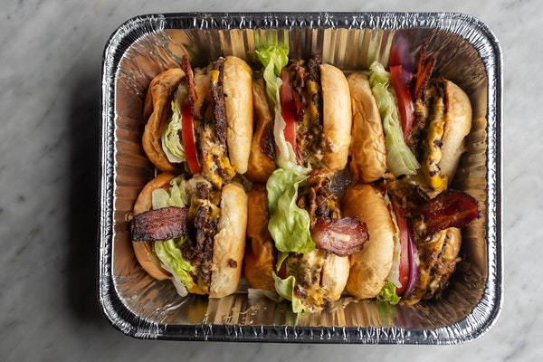 ProvidedLeave the cooking to others on Super Bowl Sunday. 6 Smith in Wayzata has a burger box available.