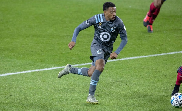 Midfielder Jacori Hayes is among four Minnesota United players to sign new contracts.
