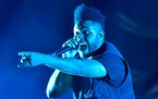 """The Weeknd has spent 47 weeks in the Billboard top 10 with his hit song """"Blinding Lights."""""""
