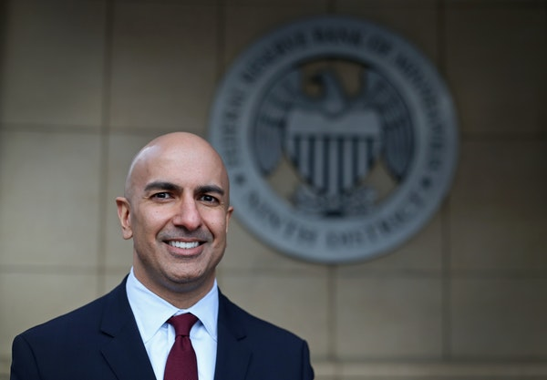 Neel Kashkari, president of the Federal Reserve Bank of Minneapolis ] Shari L. Gross • shari.gross@startribune.com