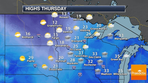 Paul Douglas: Snowy morning with dropping temperatures to follow