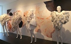 """Part of the new exhibit """"Papier"""" at the American Swedish Institute. Photo by Jon Dahlin"""