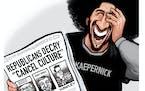 Sack cartoon: Cancel culture