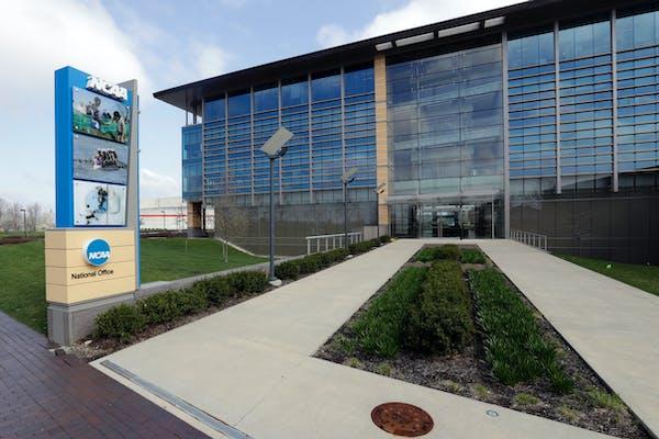NCAA headquarters in Indianapolis.