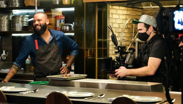 Madeleine HillA Super Bowl ad supporting independent restaurants was filmed in the Twin Cities by Andrew Zimmern's production company and features