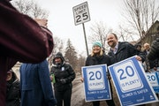 Minneapolis and St. Paul adopted speed limits of 20 mph in March on most local streets, while setting busier city-owned arterial streets at 25 mph and